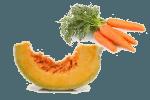 салат с тыквой и морковью