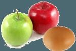 пирожки с яблоками на сковороде