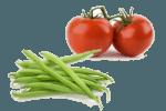 салат с зеленой стручковой фасолью