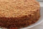 торт с варенной сгущенкой