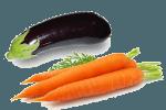 салат из баклажанов и моркови