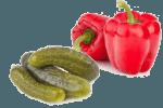 куриный салат с  болгарским перцем