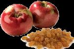 рулет с яблоками