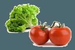 салат с помидорами и острым перцем