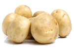 картофель с майонезом