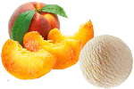десерт с персиком
