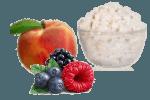 десерт из творога и фруктов
