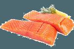 жареный лосось